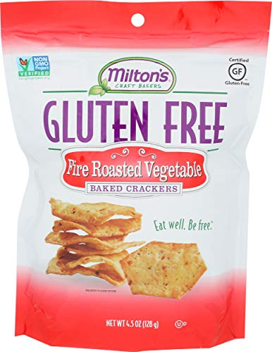 MILTONS CRAFT BAKERS Fire Roasted Vegetable Baked Crackers, 4.5 OZ