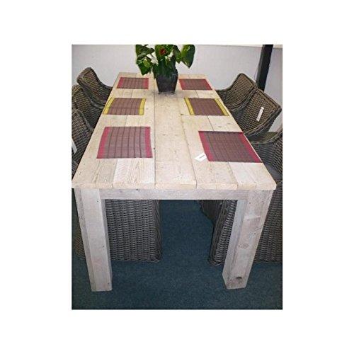 Bauholz Möbel Tisch Gahalia Gartentisch 200x100x78cm