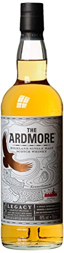 The Ardmore Legacy Highland Single Malt Scotch Whisky, mit Geschenkverpackung, 40% Vol, 1 x 0,7l - 6