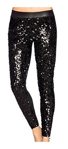 Luxe & Good Dessous leggings met pailletten