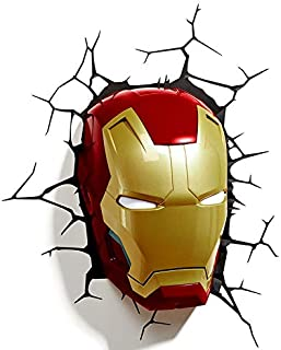 Bzmc Marvel Avengers Wall Lamp Iron Man Hand 3d