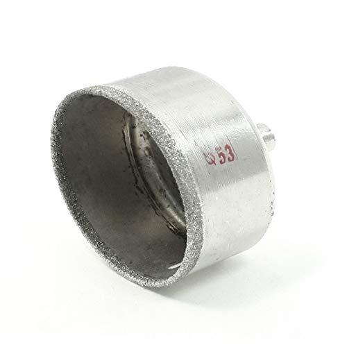 New Lon0167 Orificio redondo Destacados de metal de eficacia confiable 53 mm de diámetro Diámetro del azulejo de vidrio vio la herramienta de perforación(id:f5b ab bb dae)