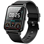 """Smart Watch,Pradory Fitness Activity Watch with Heart Rate Blood Pressure Monitor IP67 Waterproof Bluetooth Android Smartwatch 1.69"""" Large Screen Sports Smart Watches for Android iOS Phones Men Women"""