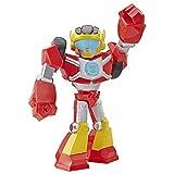 Playskool Heroes Transformers Rescue Bots Academy Mega Mighties Hot Shot Sammelfigur 25,4 cm Roboter-Actionfigur