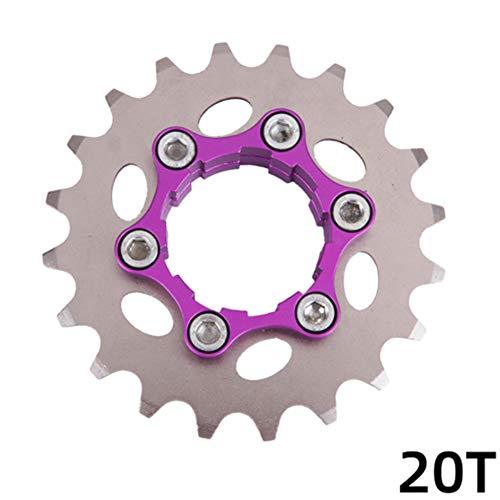 TXYFYP Rueda Libre de Bicicleta, Rueda de Cadena de radios Rueda Trasera de Bicicleta Piñón 32T para piñón de Bicicleta Profesional de una Sola Velocidad Rueda Libre 16T para Velocidad 10/11 HG ✅