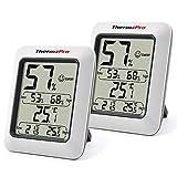 ThermoPro TP50 Hygromètre Numérique Thermomètre Intérieur Thermomètre D'ambiance et Indicateur...