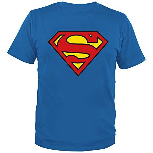 DC Comics – Herren T-Shirt Superman Logo gr. XL bedrucktes Oberteil