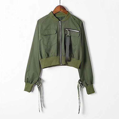 NSWTKL jeansjas herfstmode bomberjack korte top vrouwen lange mouwen basic mantel casual dunne bovenkleding plus maat short pilot bomber jacks