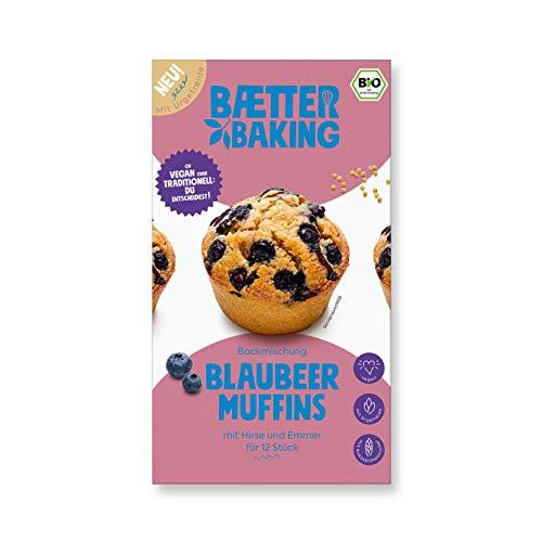 Baetter Baking Blaubeere Muffin Bio - Backmischung 360 g vegan