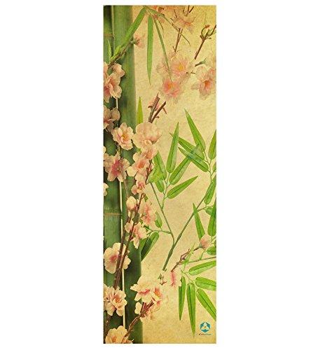 #DoYourYoga Tappetino da Yoga »Yoganidra« / Il Tappetino da Yoga e Ginnastica Ideale per i Principianti. Dimensioni: 183 x 61 x 0,4cm / bambù