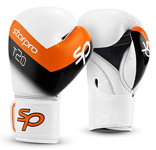 Starpro   T20 Boxing Gloves for Strong Punches & Fast KOs   Boxing Gloves Women & Men, Gents & Ladies Boxing Gloves, Womens Boxing Gloves Mens, 10oz Boxing Gloves, 12oz Boxing Gloves & More Sizes