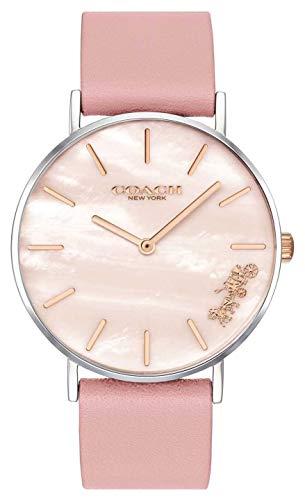Coach | orologio da donna perry | cinturino in pelle rosa | 14503244