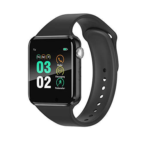 Smart Watch Compatible iOS iPhone Android Samsung,WJPILIS Bluetooth Smart Watch...