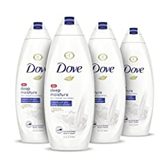 Out of Hand Soap? Dove Deep Moisture Body Wash is Just As Effective for Cleaning Hands! MILD AND PH-BALANCED: Dove body wash includes Moisture Renew Blend—a combination of skin-natural nourishers and plant-based moisturizers that absorb deeply into t...