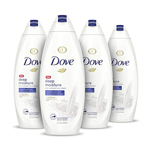 Dove Body Wash with Skin Natural Nourishers for Instantly Soft Skin and Lasting Nourishment Deep Moisture Effectively Washes Away Bacteria While...