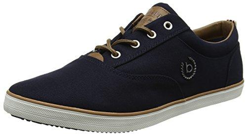 bugatti Herren F48136 Sneakers, Blau, 43 EU