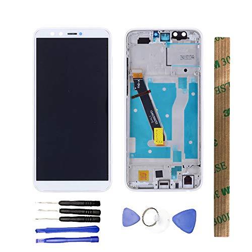JayTong - Pantalla LCD y digitalizador de Pantalla táctil de Repuesto con Herramientas gratuitas para Huawei Honor 9 Lite LLD-L31 LLD-L22A/Honor 9 Youth Edition LLD-AL10 con Marco Blanco