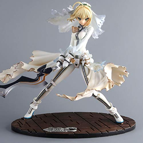 MMZ Fate Stay Night - Saber Alter Nero Brautkleid Figma Action-Figur Sammler for Fate Fans