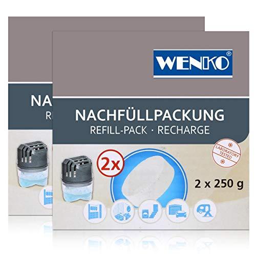 Wenko Entfeuchter Tab Nachfüllpackung 2x250g - 50200100 Raumfeuchter (2er Pack)