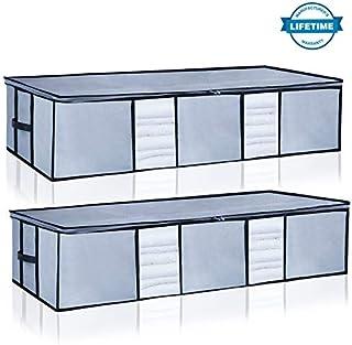 Underbed Storage Bags Organizer Container