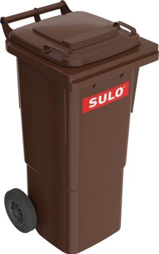 Sulo Müllgrossbehälter Fahrbar 60 Ltr Braun