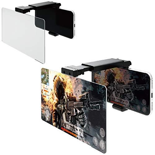 エレコム 荒野行動 PUBG スマホ用ゲーム用 拡大レンズ 3倍 スマホの画面をタブレットサイズに (4.7~6.5インチ対応) ブラック P-GML02BK