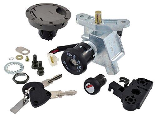 RMS Kit Cadre Clé Yamaha Aerox 50 cc 2004/2012 (cadres Clé et verrous)/Ignition Switch Kit yamaha aerox 50 cc 2004/2012 (Frameworks Key and Locks)