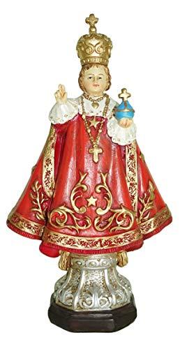 Ferrari & Arrighetti Estatua Niño Jesus de Praga de 12 cm con Caja de Regalo y marcapáginas (en ES/IN/FR/IT)