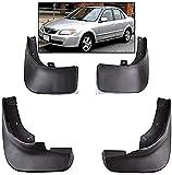 4 Piezas Guardabarros para Mazda Protege 323 98-03, Polvo Prueba Delantero Trasero Mud Guard Proteccion Styling Set Accessories