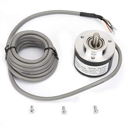 Codificador rotatorio incremental E6C2-CWZ6C, codificador de propósito general de 50 mm de diámetro para Arduino(2500P/R)