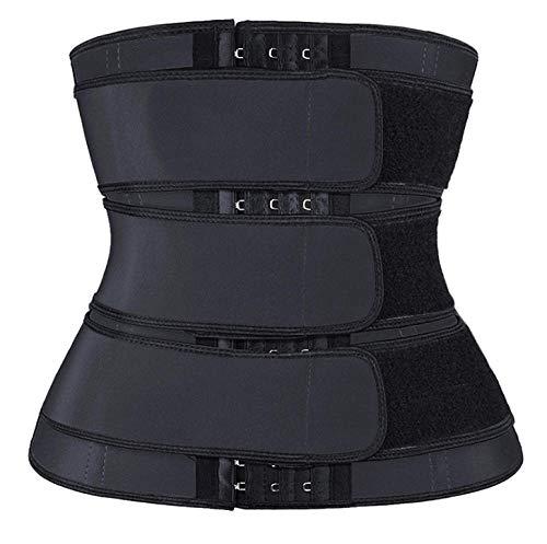 Eantpure Bodies Moldeadores,Chaleco Deportivo de Alta presión, Ropa para moldear el Abdomen, glúteos de Fitness, Cintura sudorosa-M_Medium,Mujer Body Reductor