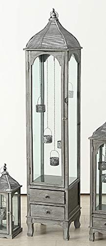 Deko Laternenschrank XXL Bodenlaterne Laterne H171cm L