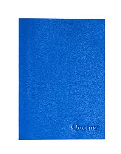 Quotus Libro di Bordo in Pelle Logbook Nautico. cm cm 17 x 24. Diario di Bordo da compilare in Barca. Manuale Navigazione e schede informative. Colore Blu