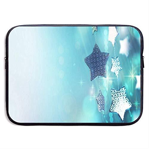 HGQHXY.U Slick Star Wallpapers Laptop Sleeve Wasserdichte Neopren-Tauchgewebe-Schutz-Aktenkoffer-Laptop-Tasche für IPad, Notebook/Ultrabook