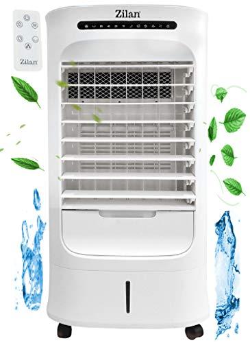 Aircooler | 10 Liter | 15h Timer | 3 Modi | 3 Stufen | Klimagerät | Mobile Klimaanlage | Luftreiniger | Ventilator | Luftkühler | Luftbefeuchtung | Klima Anlage | Standventilator