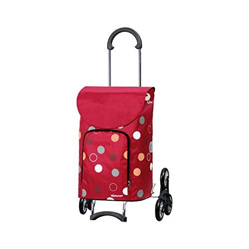 Andersen Shopper Scala Treppensteiger und 41 Liter Tasche Kira rot mit Kühlfach
