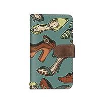 [bodenbaum] Android One 507SH 手帳型 スマホケース カード スマホ ケース カバー ケータイ 携帯 SHARP シャープ アンドロイド ワン SIMフリー 靴 パンプス ヒール 女性 a-239 (C.グリーン)
