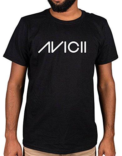 Ulterior Clothing Avicii Logo T-Shirt Wake Me Up Hey Brother