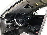 HeatShield, The Original Windshield Sun Shade, Custom-Fit for Mazda CX-5 SUV w/ Sensor 2017, 2018, 2019, 2020, 2021, Silver Series