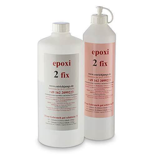 epoxi 2 fix, Epoxidharz, Rissharz, Giessharz, Vergussmasse, Epoxidkleber 1000g Set