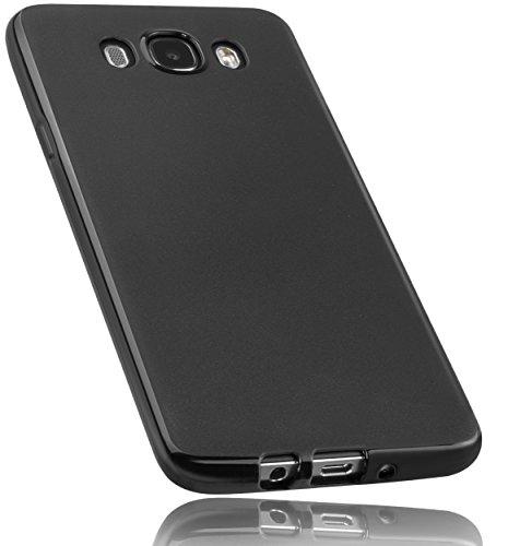 mumbi Hülle kompatibel mit Samsung Galaxy J7 2016 Handy Case Handyhülle, schwarz
