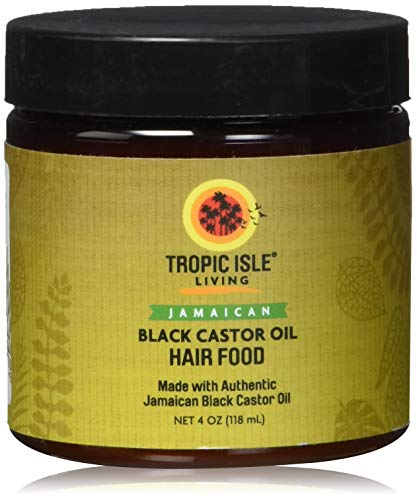 Tropic Isle Living Jamaican Black Castor Oil Hair Food-4oz