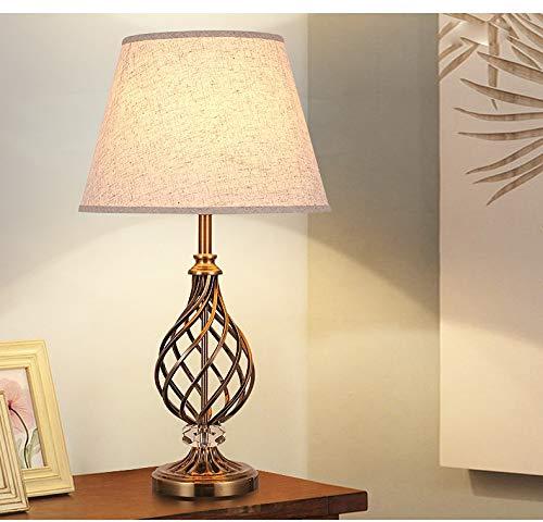Faus Koco / China Nueva/Simple Industria Lámpara de Cristal de Hierro Ahorro de energía, 1 * E27 (35 * 64cm)