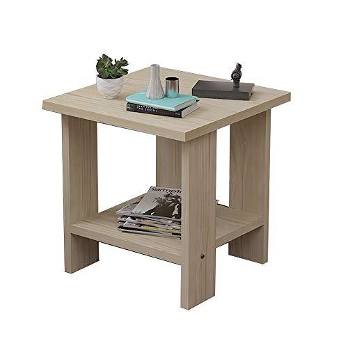 Qing MEI Petite Table Basse Mini Petit Appartement Salon Côté Canapé, Chambre Table De Chevet A++
