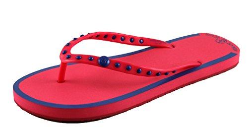 Armani Jeans Damenschuhe Shoe Sandalen Badeschuhe Zehensandalen V55F1 Fuxia Gr.40