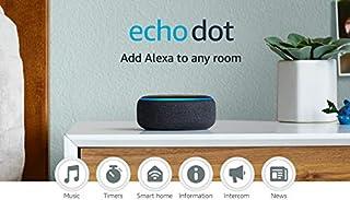 Echo Dot (3rd Gen) - Smart speaker with Alexa - Charcoal (B07FZ8S74R) | Amazon price tracker / tracking, Amazon price history charts, Amazon price watches, Amazon price drop alerts