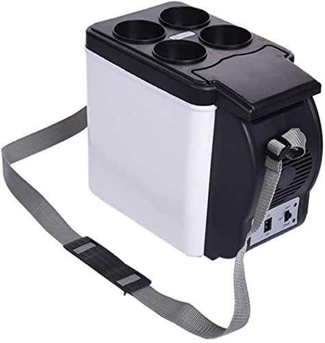 Mini coche portátil retro 6 litros refrigerador para el refrigerador del coche/calentador dormitorio oficina dormitorio gran capacidad refrigerador libre ruido