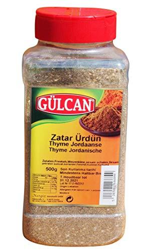 Gülcan - XL Gebinde Zatar - Zahtar - Gewürzmischung nach jordanischer Art (500g)