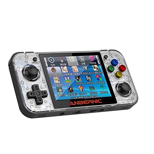 FREI Juego De Juego Portátil De Consola De Juegos Retro Retrogame De Código Abierto De Código Abierto Doble Rocker IPS Consola De Juegos De Mano Mini PSP R