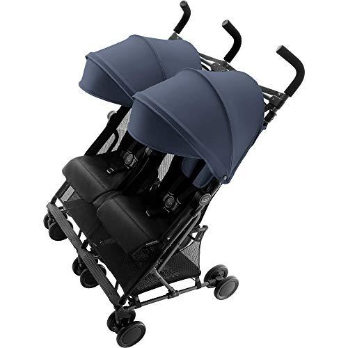 Britax Holiday Double Buggy, 6 maanden tot 3 jaar, tot 15 kg per stoel, collectie 2018 blauw
